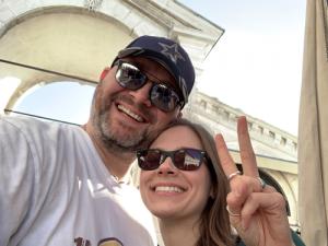 © zweimitvan.de | Wir in der Stadt, mit der es begann: Venedig (2019). Seither ist es um uns geschehen und die Camping-Welt hat neue Follower.